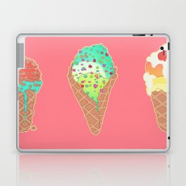 Neon Cones Laptop & iPad Skin
