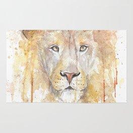 Beautiful African Lion Rug