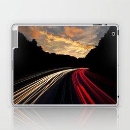 timelapse car red Laptop & iPad Skin