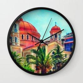 Thessaloniki 2 Wall Clock