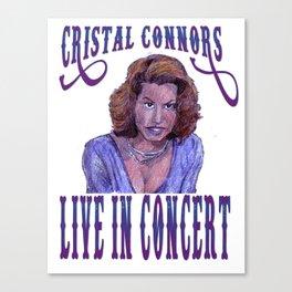 Cristal Connors Canvas Print