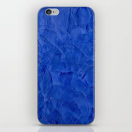 Dark Blue Ombre Burnished Stucco - Faux Finishes - Venetian Plaster iPhone Skin