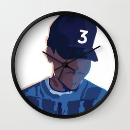 Coloring Book - Chance the Rapper Wall Clock