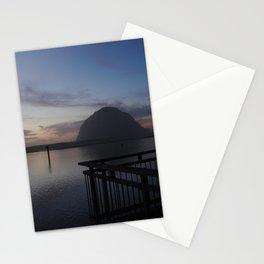 Morro Bay sunset Stationery Cards