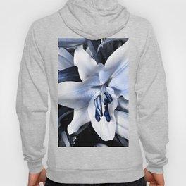 Blue light lily Hoody