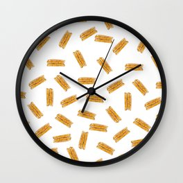 Grilled Cheese, Please Wall Clock