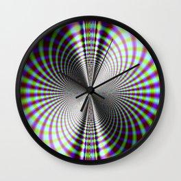 Fractal Moire Wall Clock