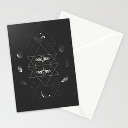 Phases of Death Stationery Cards