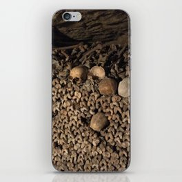 We Are All the Same in the End iPhone Skin