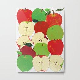 Apple Harvest Metal Print