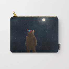 Starry Night Novembear Carry-All Pouch
