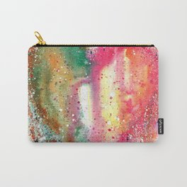Heart Watercolor Art Carry-All Pouch