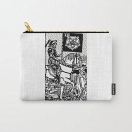 Modern Tarot Design - 13 Death Carry-All Pouch