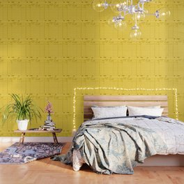 Library Card 797 Yellow Wallpaper