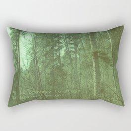 Bravery Rectangular Pillow