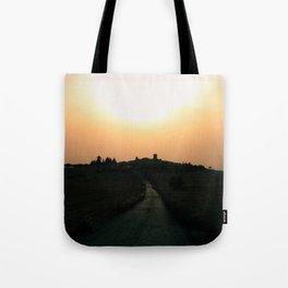 Evening lights Tote Bag