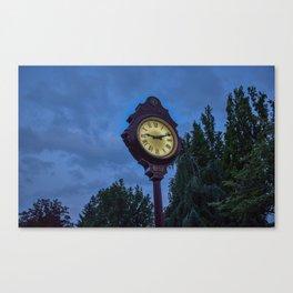 The Lions Clock in Queen Elizabeth Park Vancouver BC Canvas Print