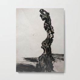 Petrified Metal Print