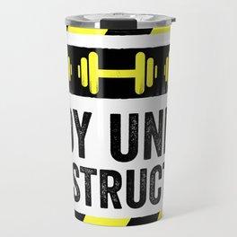 Body Under Construction Travel Mug