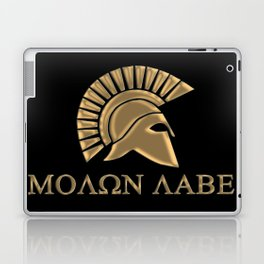 Molon lave-Spartan Warrior Laptop & iPad Skin