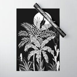 Toucan in the night jungle Wrapping Paper