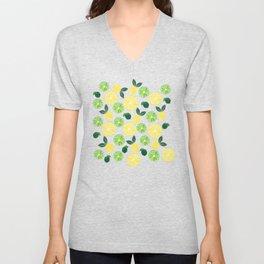 Lemon Lime Unisex V-Neck