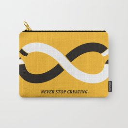 Never stop creating (the infinity pencil) Carry-All Pouch