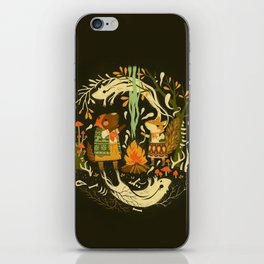 Animal Chants & Forest Whispers iPhone Skin
