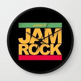 JAMROCK REGGAE Wall Clock