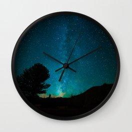 Milky Way // Colorado Wall Clock