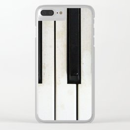 Lost melodies Clear iPhone Case
