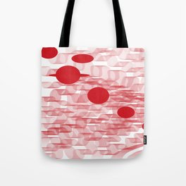 red planets Tote Bag