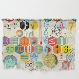 Math in color Wall Hanging