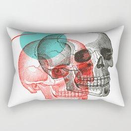 Twinskulls Rectangular Pillow