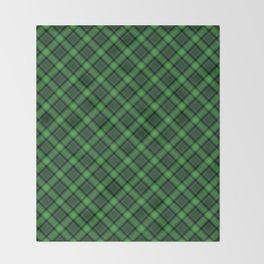 Green Scottish Fabric High Res Throw Blanket