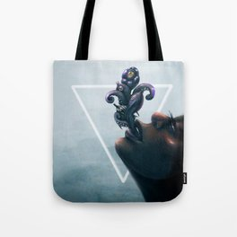 Effervescent in the Pure of Water Tote Bag