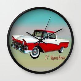 57 Ranchero Wall Clock