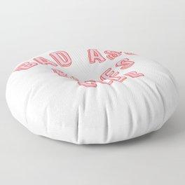 BAD ASS BABES CLUB Floor Pillow