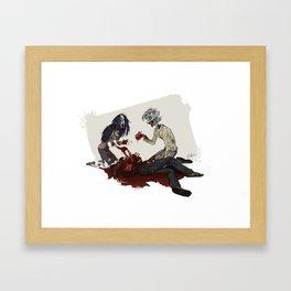 Necromantic Framed Art Print