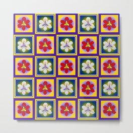 Spanish Tiles - A Metal Print