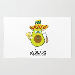 Avocado - A mexican lawyer Rug