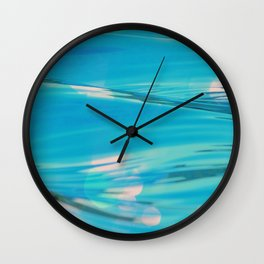 Sea Waves Vintage Wall Clock