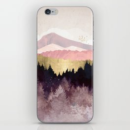 Plum Forest iPhone Skin