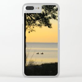 Go Kayaking Clear iPhone Case