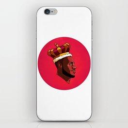 King James iPhone Skin