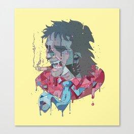 Rock and Melt Canvas Print