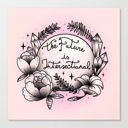 The Future Is Intersectional Canvas Print