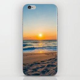 Canaveral National Seashore Sunrise iPhone Skin