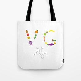 VG life Tote Bag