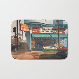 The Van Ness South Grocery 17 & SVN San Francisco 1994 Bath Mat